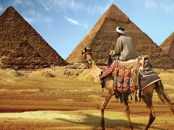 Great Pyramids Camel ride Sphinx